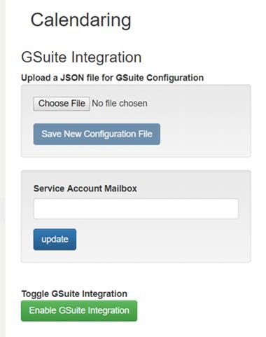 Configuration of G Suite Integration V44 1